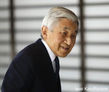 El emperador de japón, Akihito