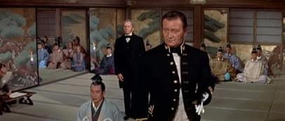 """John Wayne en una historia de samurais y geishas. """"El Bárbaro y la Geisha"""" (""""The Barbarian and the Geisha"""", 1958)"""
