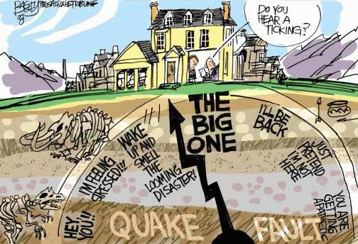"""Esperando al """"big one"""", el terremoto que destruirá Japón"""