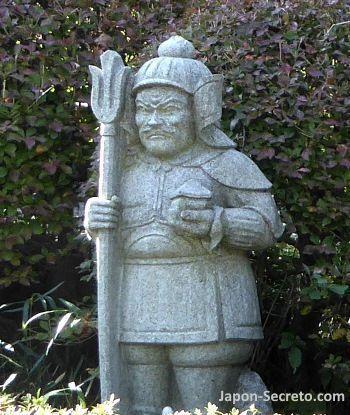 Los siete dioses de la felicidad (七福神): 毘沙門天 (Bishamonten)