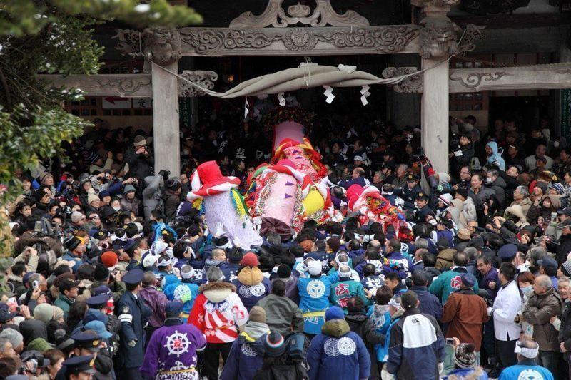 Bonden Sai @ Santuario Taiheizan Miyoshi   Akita-shi   Akita-ken   Japón
