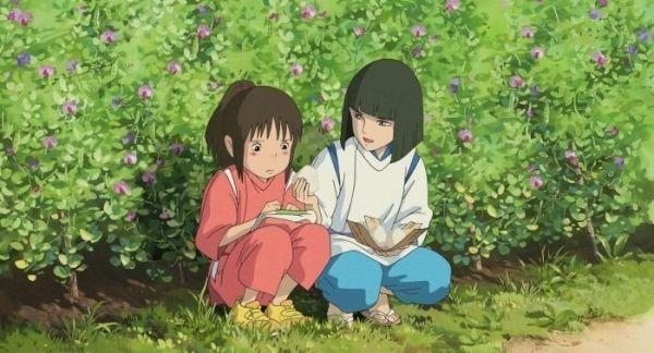 "Con Haku. ""El Viaje de Chihiro"" (""千と千尋の神隠し"", 2001)"