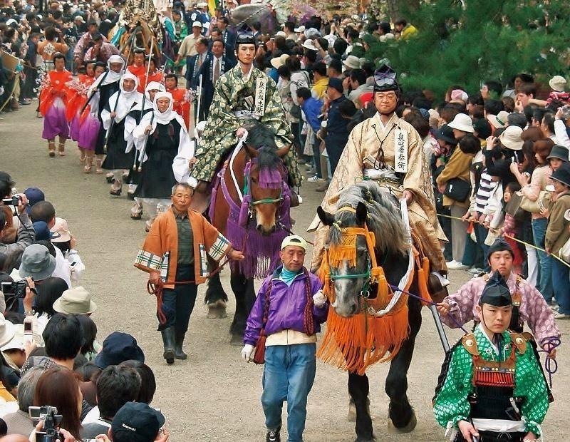 Haru No Fujiwara Matsuri (Festival de Primavera de Fujiwara) @ Hiraizumi | Hiraizumi | Iwate Prefecture | Japón