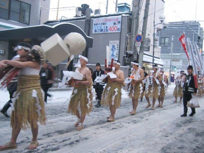 Festivales de Japón: Hadaka Mairi de Morioka (prefectura de Iwate)