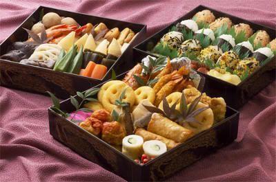 Osechi ryōri (御節料理) o comida de año nuevo en Japón