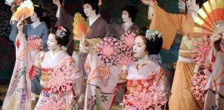 Festival de bailes de geishas Kamogawa Odori