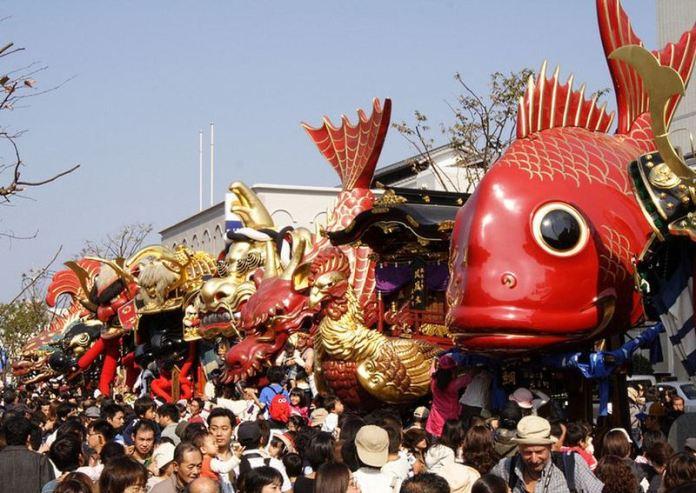 Festivales de Japón: el Karatsu Kunchi (唐津くんち) en Karatsu (prefectura de Saga)