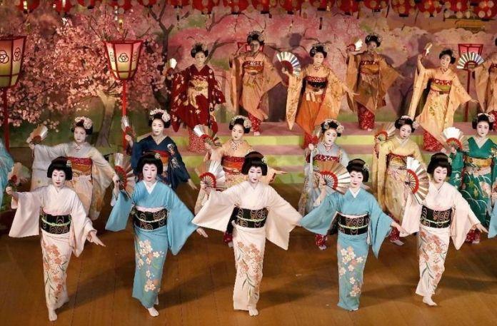 Festival de geishas Kyo Odori (Kioto)