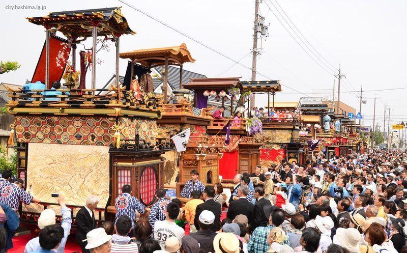 Mino Takehana Matsuri @ Hashima | Hashima | Gifu Prefecture | Japón