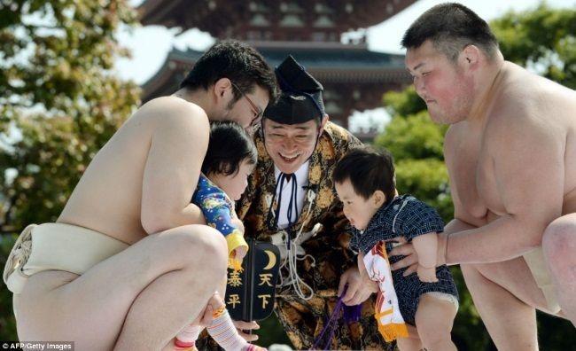 Festival Nakizumo en Tokio (Foto: AFP/Getty)