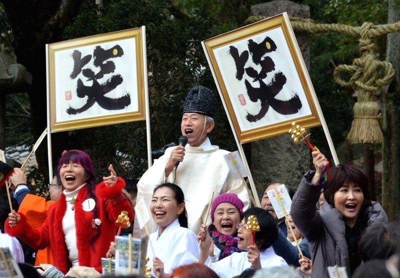 Owarai Shinji @ Santuario Hiraoka | Higashiosaka | Osaka Prefecture | Japón
