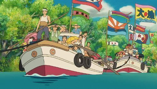 """Escena de """"Ponyo en el Acantilado"""" (Hayao Miyazaki, 2008)"""
