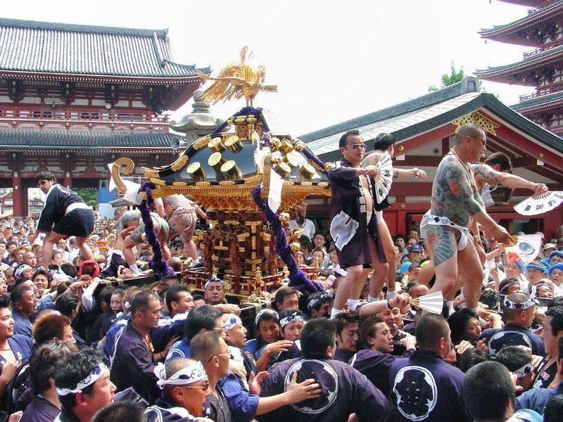 Sanja Matsuri, el festival de la yakuza o mafia japonesa