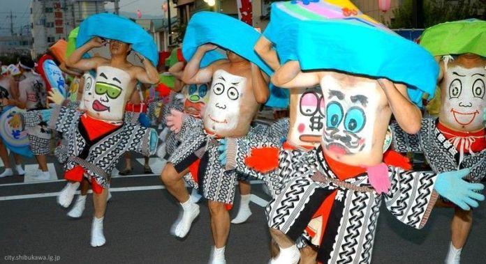 Festivales de Japón: el Shibukawa Heso Matsuri (渋川へそ祭り) o Festival del Ombligo de Shibukawa, posiblemente uno de los más excéntricos y frikis de todo Japón.
