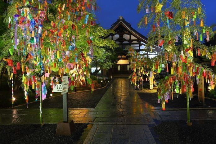 Festival Tanabata del templo Kodaiji