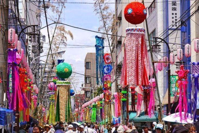 Fiesta del Tanabata en Sendai