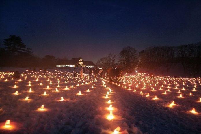 Festival de nieve de Urabandai