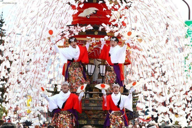 Yamada No Harumatsuri @ Santuario Tsunemochi | Chichibu | Saitama Prefecture | Japón