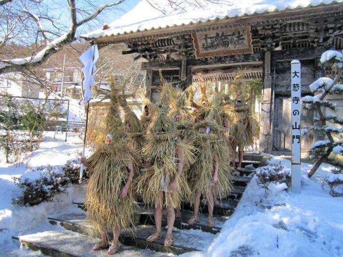 Festivales de Japón: el Yonekawa No Mizukaburi (米川の水かぶり) o