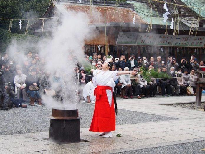 Festivales de Japón: Yutate Kagura, un ritual de bendición celebrado en Kioto el día más frío del invierno
