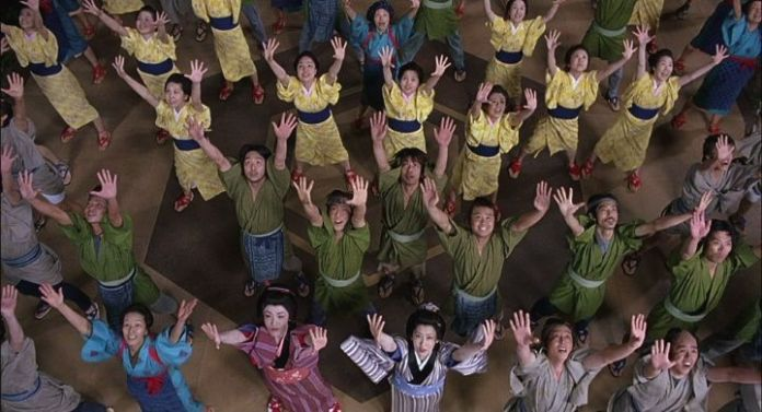 "Final bollywood en ""Zatōichi"" (座頭市, 2003)"