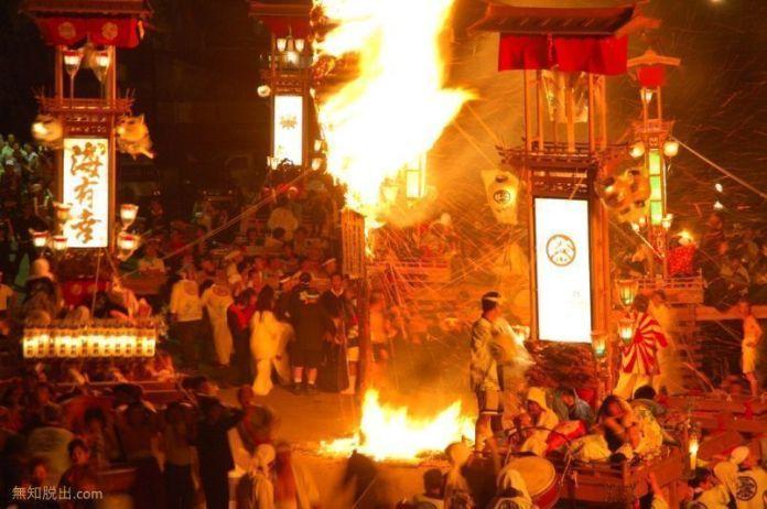 Festivales de Japón: el salvaje Abare Matsuri de Noto, celebrado en julio