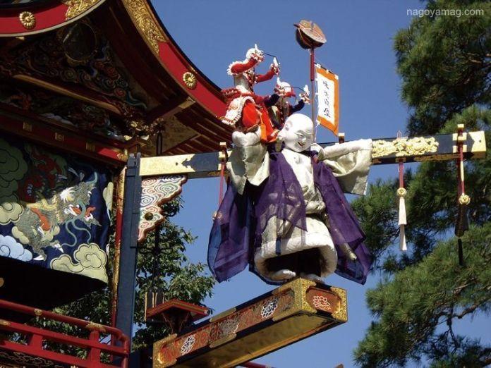 Festivales de Japón: el Aki No Takayama Matsuri (秋の高山祭) o Festival de Otoño de Takayama. Evento Karakuri Hōnō