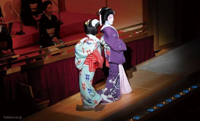 Festivales de Japón: festival de geishas Azuma Odori, a finales de mayo en Ginza (Tokio)