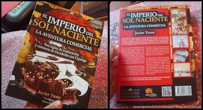 """""""El Imperio del Sol Naciente"""" (Editorial Nowtilus, 2015) de Javier Yuste"""