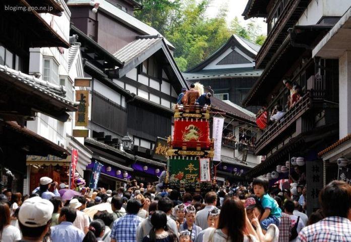 Festivales de Japón: Narita Gion Matsuri (成田祇園祭) celebrado en el pueblo cercano al aeropuerto internacional, a comienzos de julio