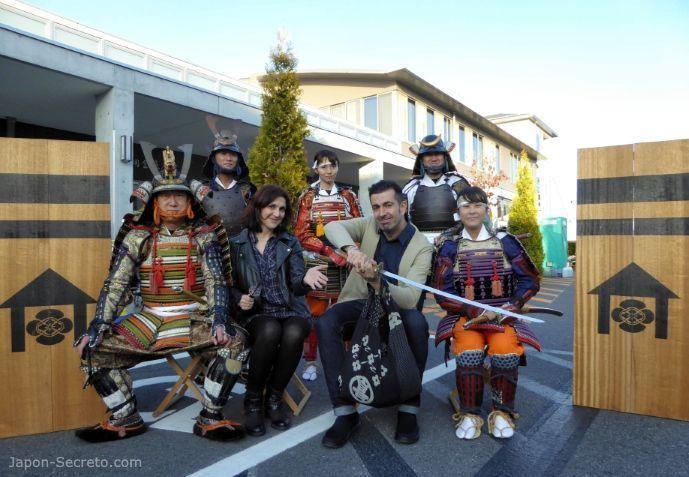 Festival Taimatsu Akashi: foto con samurais