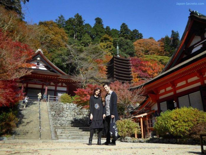 """El santuario Tanzan (""""Tanzanjinja"""", 談山神社) en Sakurai (prefectura de Nara). Un lugar ideal para el momiji en Japón"""