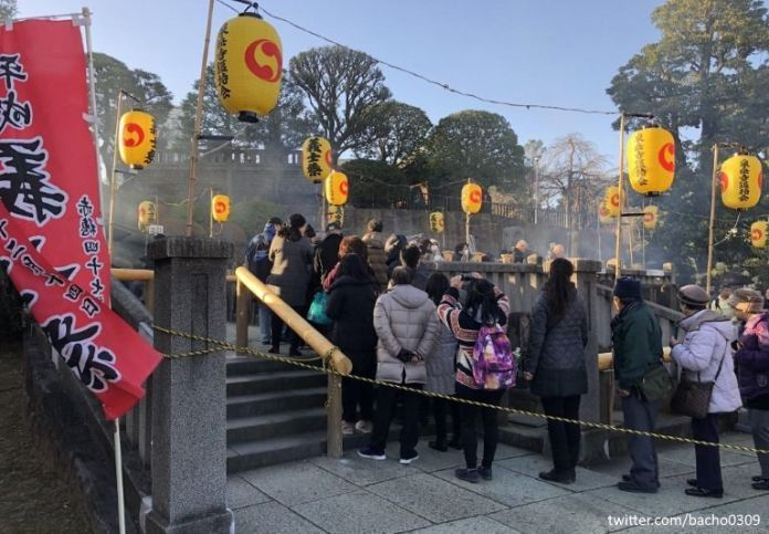 Festivales de Japón: el Akō Gishi Sai(赤穂義士祭) en el templo Sengakuji de Tokio, en memoria de los 47 ronin. Celebración de 2017