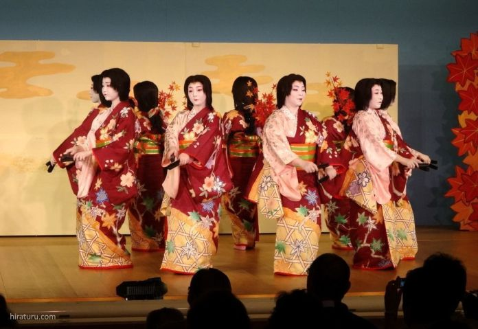 Festivales de Japón: festival de geishas Atami Odori