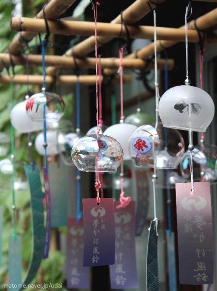 """Verano en Japón: lasfūrin (風鈴) o """"campanillas de viento"""""""