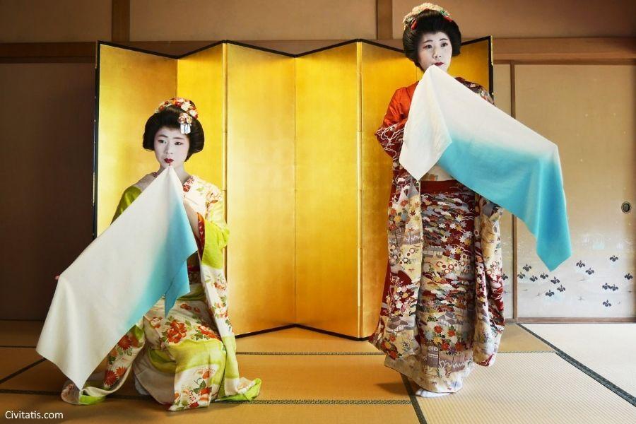 Disfruta de un auténtico espectáculo Maiko tradicional en Kioto