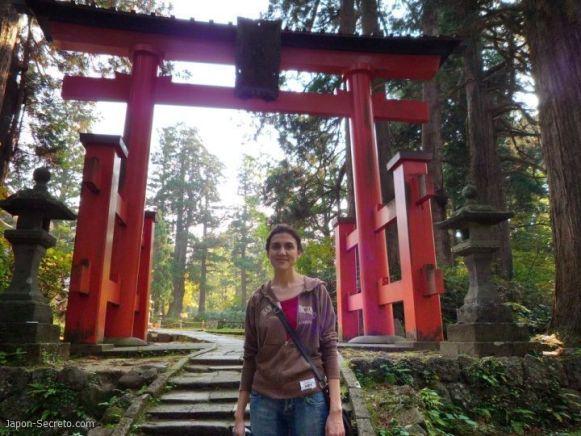 Dewa Sanzan: monte Haguro. Entrando en Gosaiden