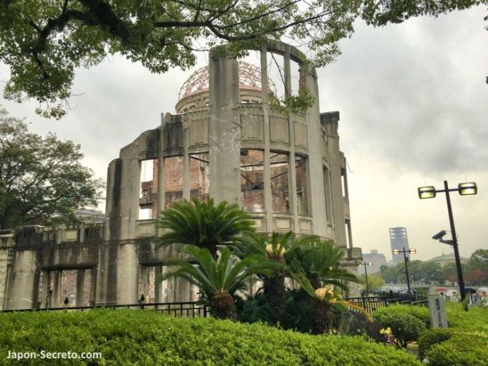 Excursión guiada a Hiroshima: Memorial de la Paz de Hiroshima o Cúpula de la Bomba Atómica (Genbaku Dōmu, 原爆ドーム)