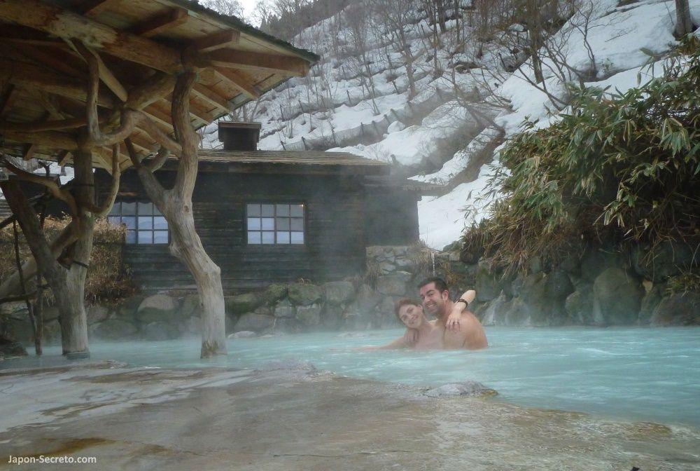 Viajar a tohoku los ba os mixtos de nyuto onsenkyo el - Banos termales madrid ...