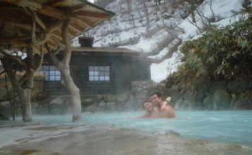 Nyuto Onsen y Tsurunoyu: los baños mixtos más famosos y exóticos de Japón. En Akita (Tohoku)