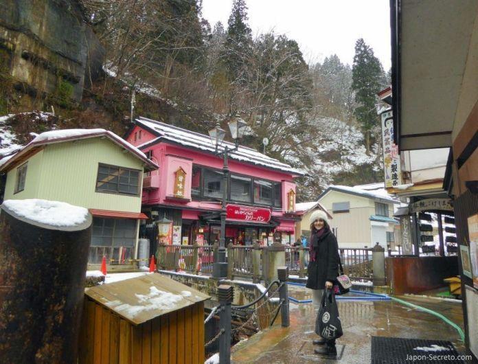 Viaje a Ginzan Onsen (銀山温泉), pueblo balneario en la prefectura de Yamagata (Tohoku, Japón).
