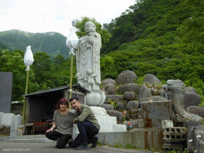 Japón. Ruta de peregrinación Dewa Sanzan. Monte Yudono (Yudonosan).