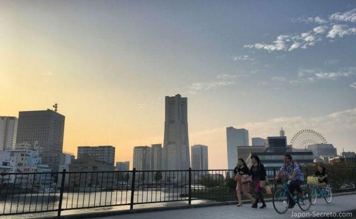 Minato Mirai 21. Puerto de Yokohama. Una gran excursión desde Tokio