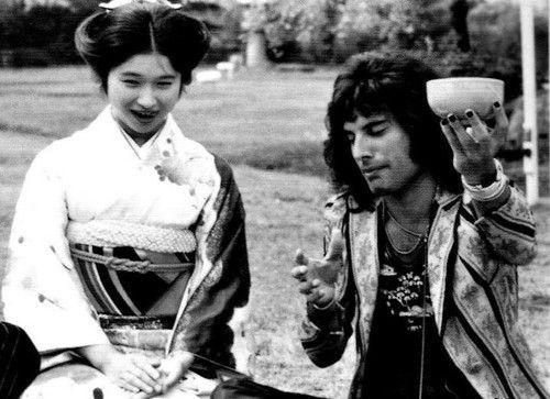 Freddy Mercury en Japón (1975)