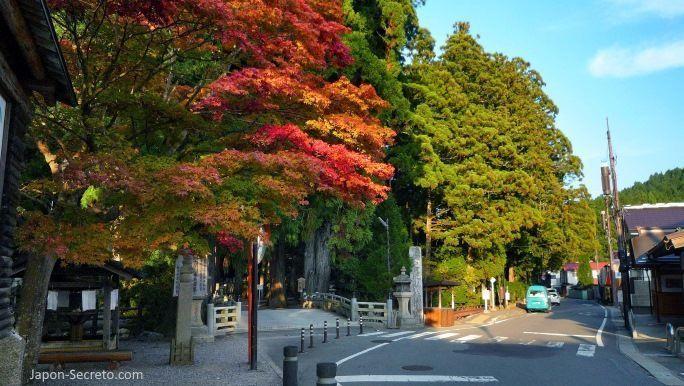 Viajar al Monte Koya o Koyasan (Wakayama): cementerio Okunoin. Entrada Ichinohashi (一の橋)