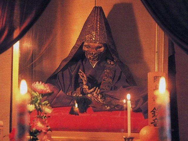 Las momias budistas vivas de Japón