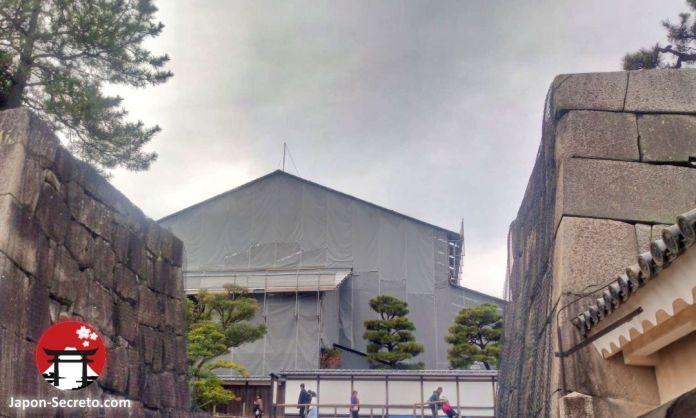 Castillo de Nijo (Kioto) en obras: Honmaru