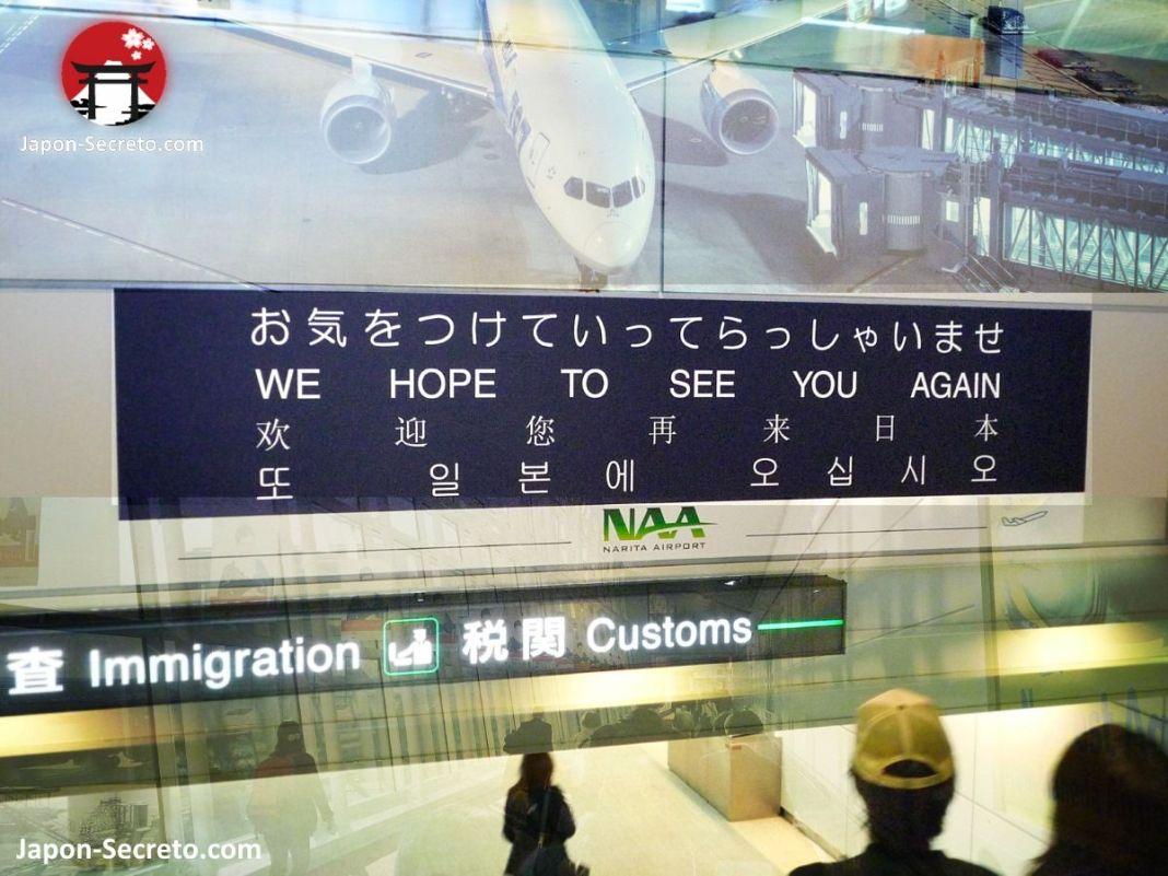 Viajar a Japón: volver desde el aeropuerto de Narita (Tokio)