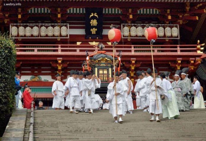 Festivales de Japón: Tsurugaoka Hachimangu Reitaisai de Kamakura
