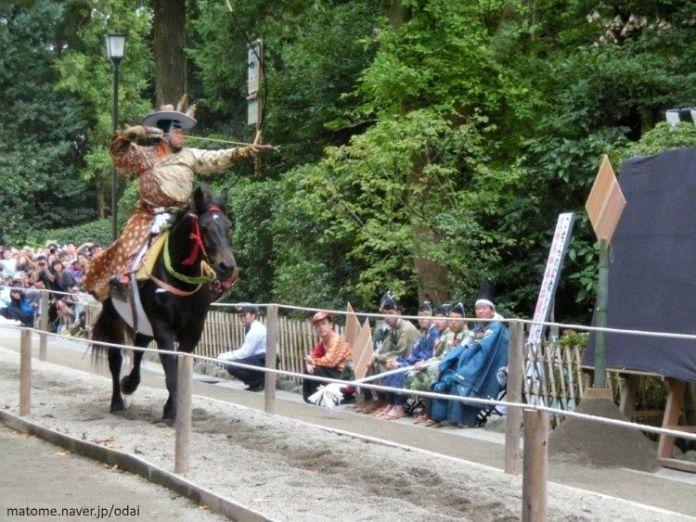 Festivales de Japón: Yabusame (arquero a caballo) en el Tsurugaoka Hachimangu Reitaisai de Kamakura
